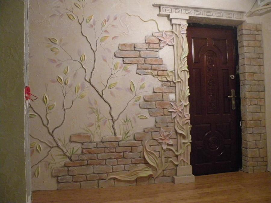 Лепнина на стенах – как способ декоративной отделки