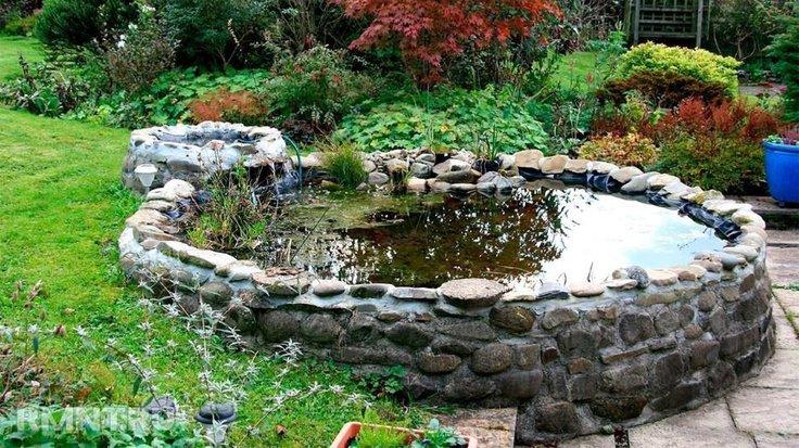 Как подготовить пруд на участке к холодному сезону?