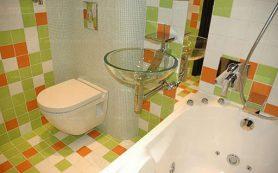 Отделка ванной и туалета