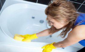 Чистка ванны в домашних условиях, средства, способы