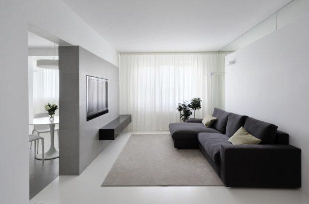Меньше, да лучше: интерьер в стиле минимализм