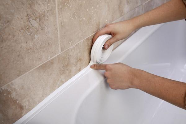 Методы заделки стыка ванны со стеной