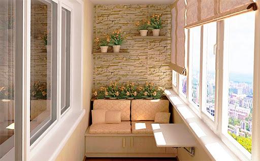 Дизайн балкона: делаем красивый и функциональный уголок в доме