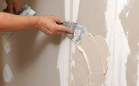 Инструменты необходимые при шпаклевке стен
