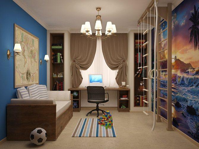 Ремонт детской комнаты. Можно ли справиться своими силами?