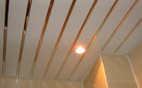 Реечный подвесной потолок, его виды и преимущества
