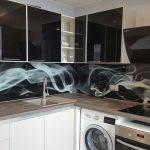 Стеклянные скинали для кухни - что это?