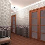 Какими обоями рекомендуется поклеить коридор в квартире?