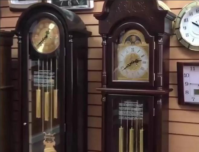 Часы напольные от российского производителя