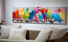 Картины в интерьере: живописные сюжеты и популярные композиции