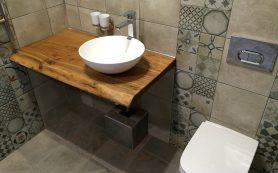 Какую конструкцию столешницы выбрать для ванной