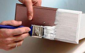 Как долго сохнут разные краски и от чего это зависит