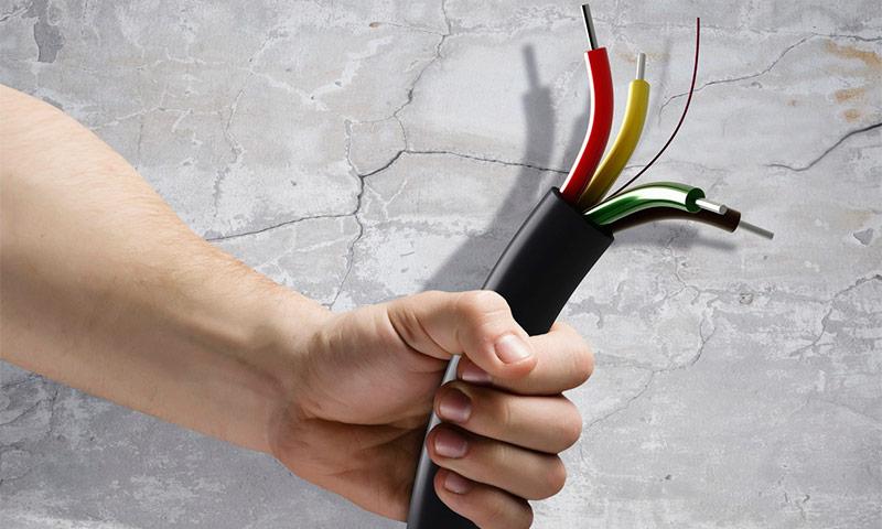 Какие типы кабелей считаются негорючими
