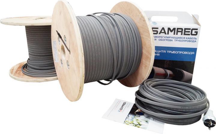 Электрический кабель для подогрева труб