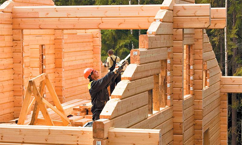 Виды бруса для строительства загородных домов
