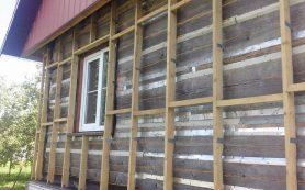 Утепление деревянного дома снаружи своими силами