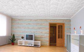 Потолочные покрытия для комнат – варианты и типы