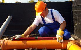 Монтаж наружной канализации для промышленных объектов