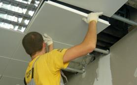 Как сделать качественный ремонт подвесных потолков?