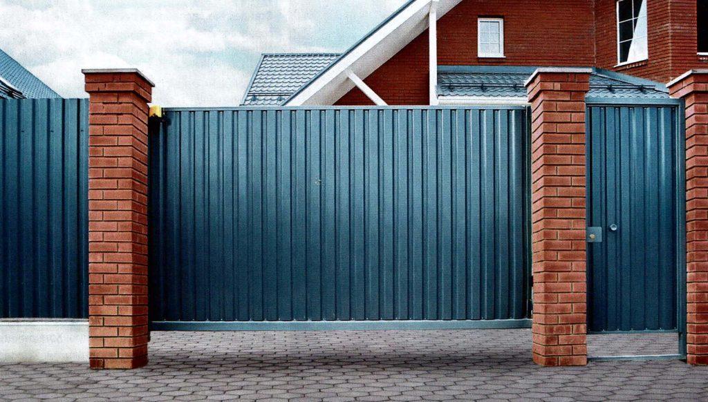 Въездные ворота для частного дома, как правильно выбрать