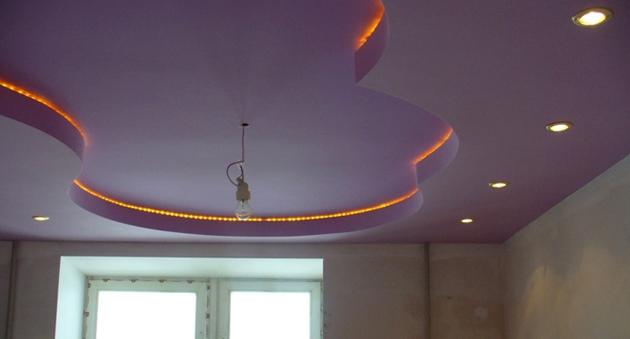 О ремонте потолка