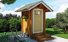 Как построить туалетный домик на даче