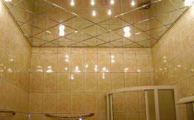 Делаем ремонт потолка в ванной комнате: варианты на разный бюджет
