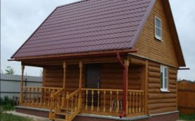 Проектируем и строим баню из бревна