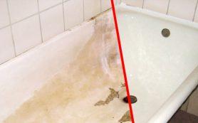 Ремонтируем старую ванну