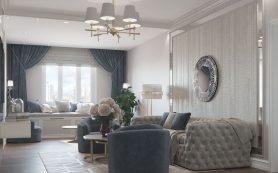 Модный ремонт квартиры в эклектическом стиле