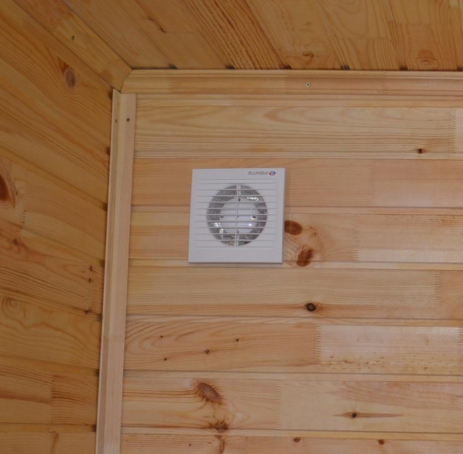 Правильная вентиляция для домашней сауны — дизайн