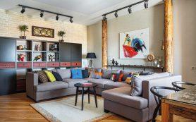 Авторский ремонт квартир. Гостиные — несколько креативных идей