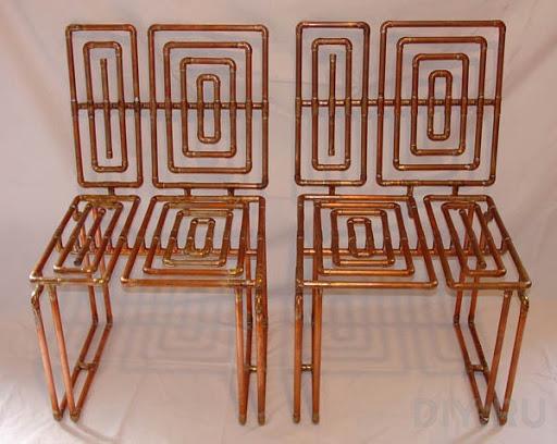 История металлической мебели из гнутых трубок