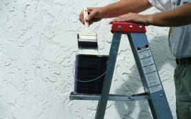 Как правильно производить покраску стен