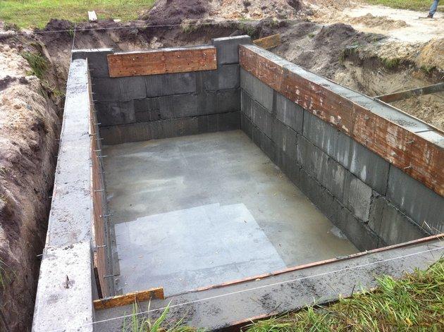 Этапы работ в строительстве гаража