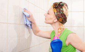 Как и чем помыть кафель чтобы он блестел