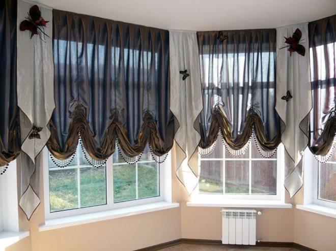 Французские или австрийские шторы – что выбрать?