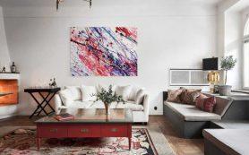 Живопись в домашнем интерьере