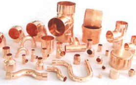 Современные медные трубы и фитинги