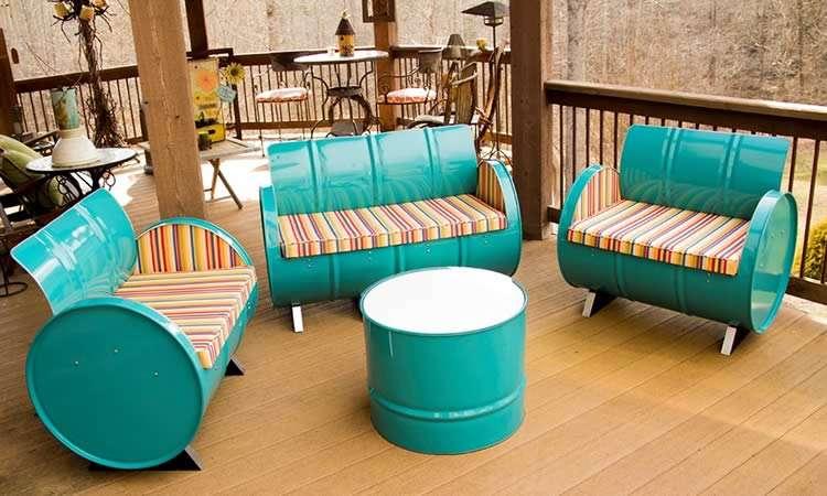 Мебель из нестандартных материалов