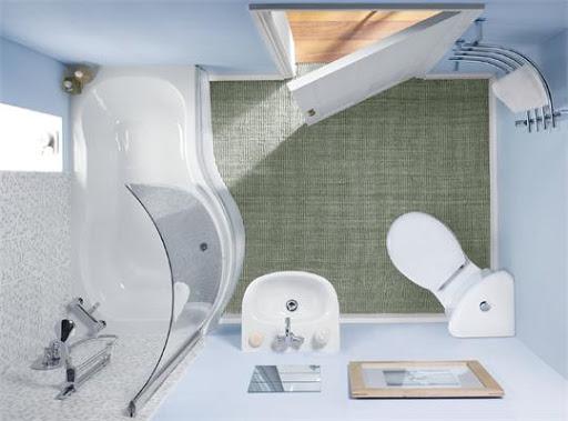Эргономичная ванная комната