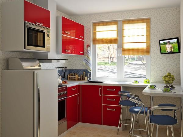 Особенности ремонта на маленькой кухне