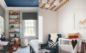 Обои на потолок: плюсы, минусы и нюансы