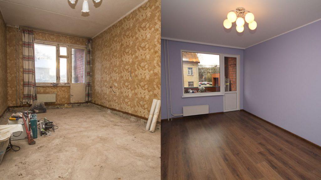 В чём разница между косметическим и капитальным ремонтом в квартире?