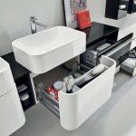 Организация хранения вещей в ванной комнате