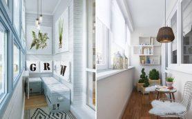 Планировка балконов и лоджий: идеи и решения