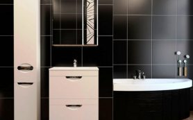 Выбираем зеркальный шкафчик для ванной правильно