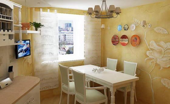 Родные стены: выбор материалов для отделки кухни