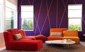 Необычные способы окрашивания стен: идеи и лайфхаки
