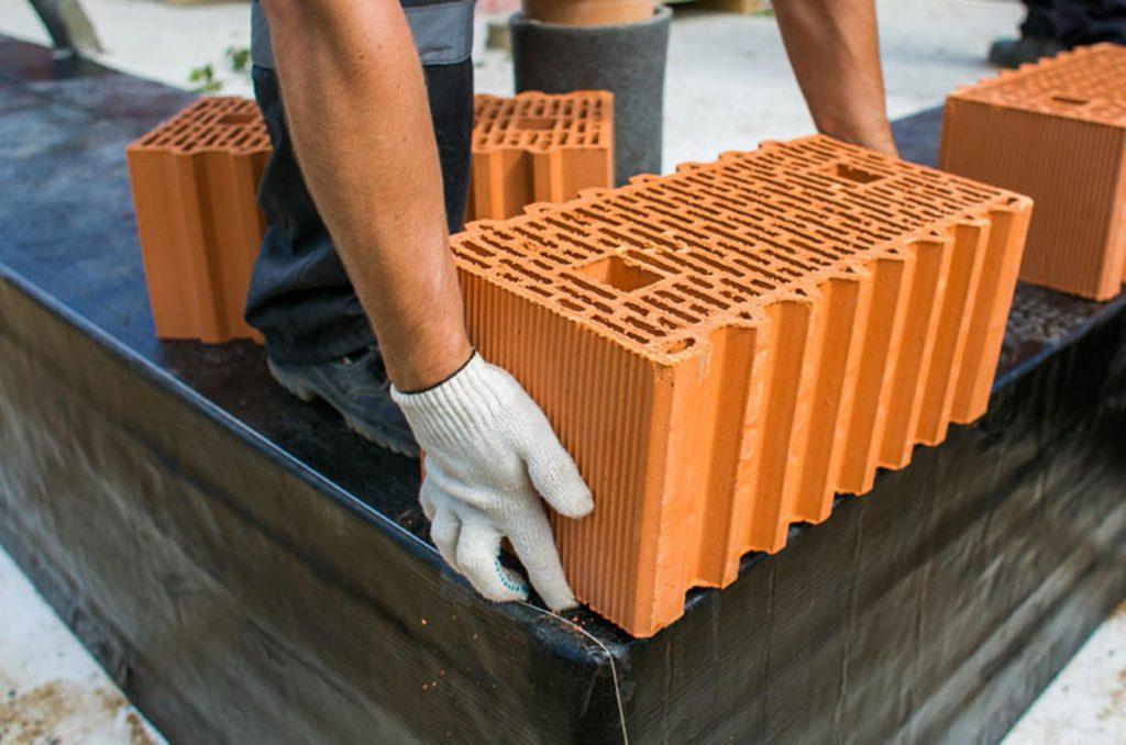 Керамический блок в строительстве